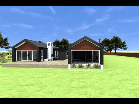 Pavilion house three pv03 youtube for Pavillion house plans