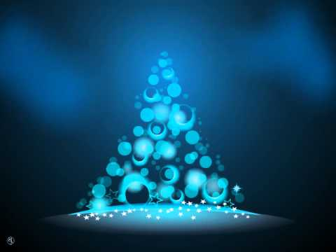 Business ecards - Christmas Tree, Blue Christmas Tree Animation by ...