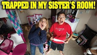 TRAPPED IN MY SISTER