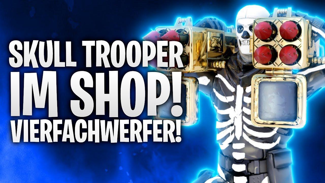 SKULL TROOPER IM SHOP & VIERFACHWERFER! ???? | Fortnite: Battle Royale