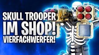 SKULL TROOPER IM SHOP & VIERFACHWERFER! 💀 | Fortnite: Battle Royale