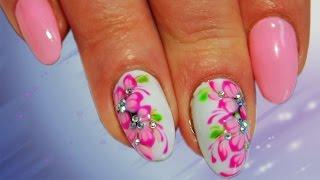 Розовая Сакура Топ удивительные дизайн ногтей  Nail art design
