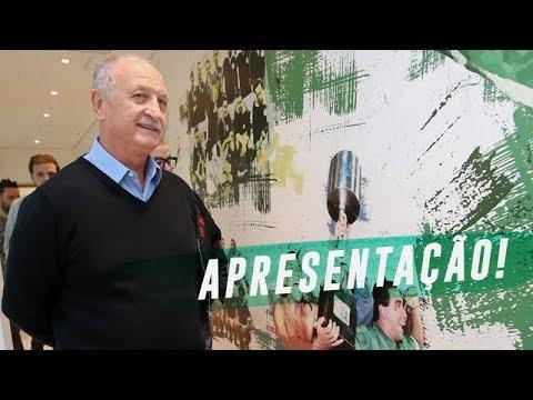 APRESENTAÇÃO DO TÉCNICO LUIZ FELIPE SCOLARI