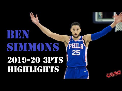 Best of Ben Simmons 3 pointers compilation
