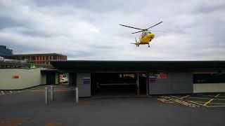 THE AIR AMBULANCE - Northern General Hospital - Sheffield - 28/08/18.