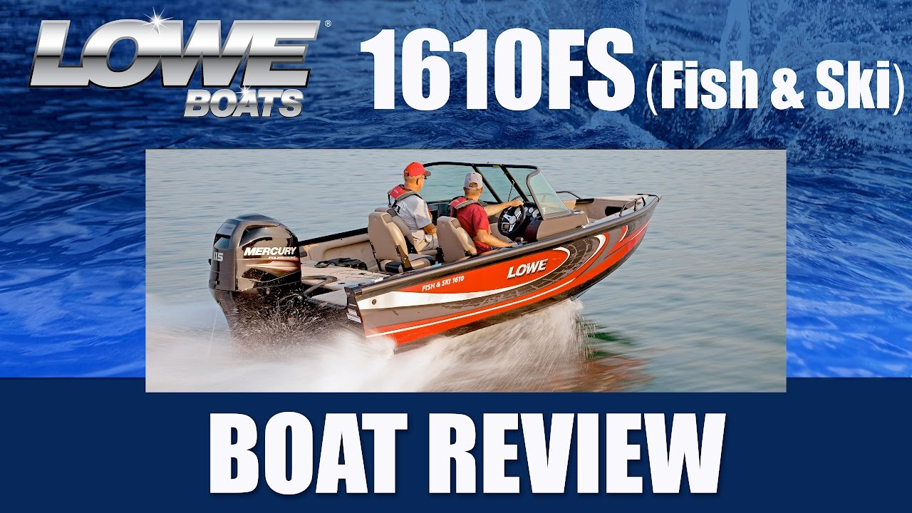 Lowe Boat Wiring Worksheet And Diagram Fishing Harness The 1610 Fish Ski Video Tour At Warehouse Youtube Rh Com Pontoon Boats