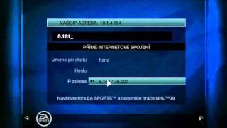 Online hraní NHL09