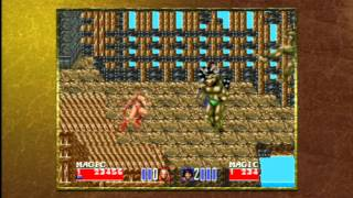 Game | Classic Game Room GOLDEN AXE 2 Sega Genesis PS3 review | Classic Game Room GOLDEN AXE 2 Sega Genesis PS3 review