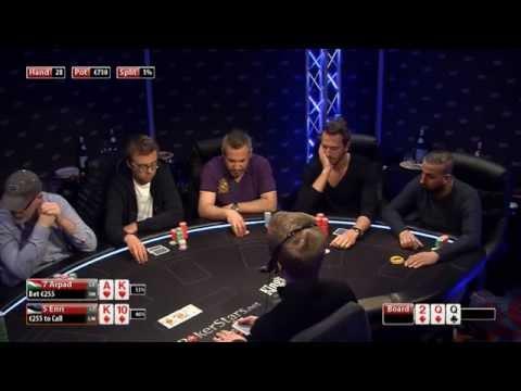 CASH KINGS E42 1/2 - DE - NLH 5/10 ante 5 - Live cash game poker show
