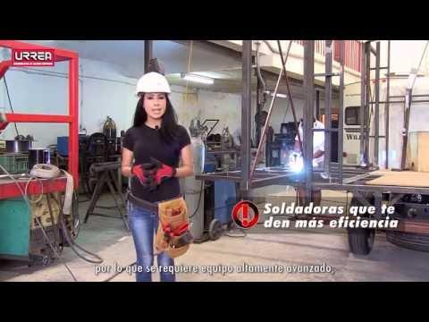 Soldadoras de Arco Inverter Urrea URREA México thumbnail