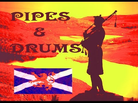 💥Scottish Pipes & Drums 💥Celtic💥Albannach💥