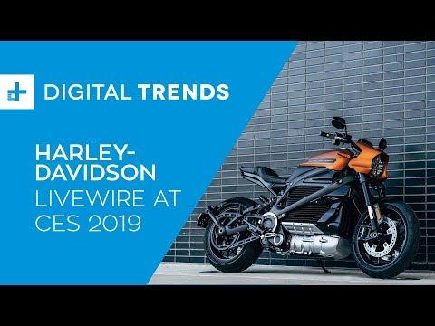 Harley-Davidson Livewire - Hands On at CES 2019