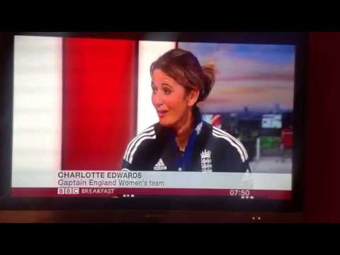 BBC Breakfast interview with Charlotte Edwards on MCC Spirit of Cricket