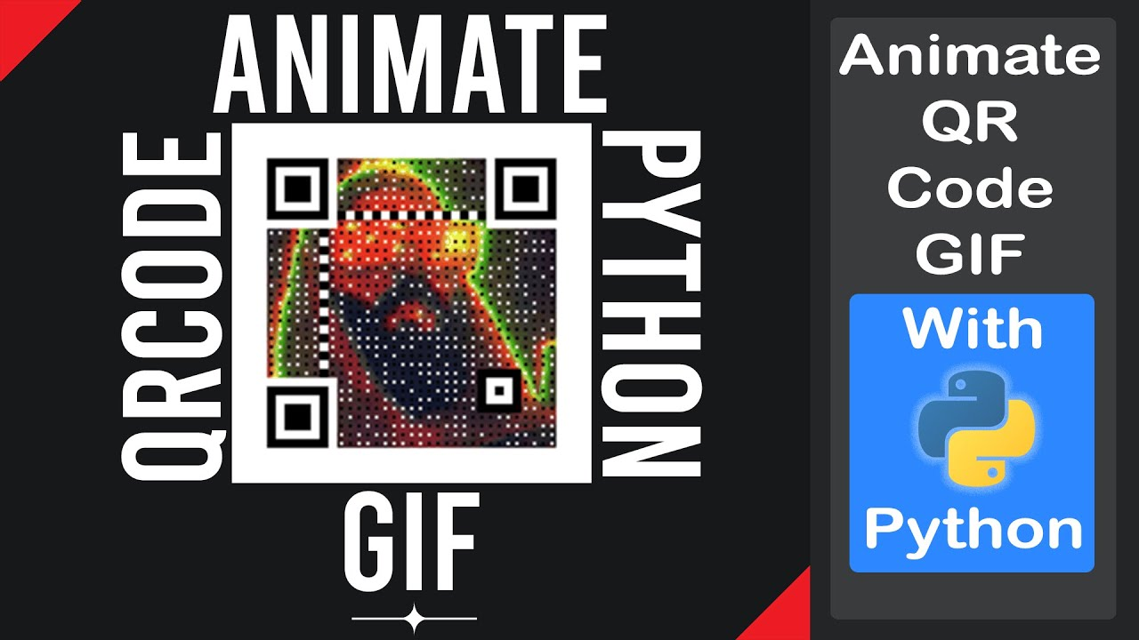 Create an Animated QR Code GIF with Python | Generate and Access QR Code Easily Using Python