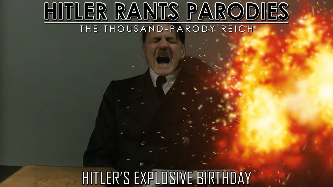Hitler's explosive birthday