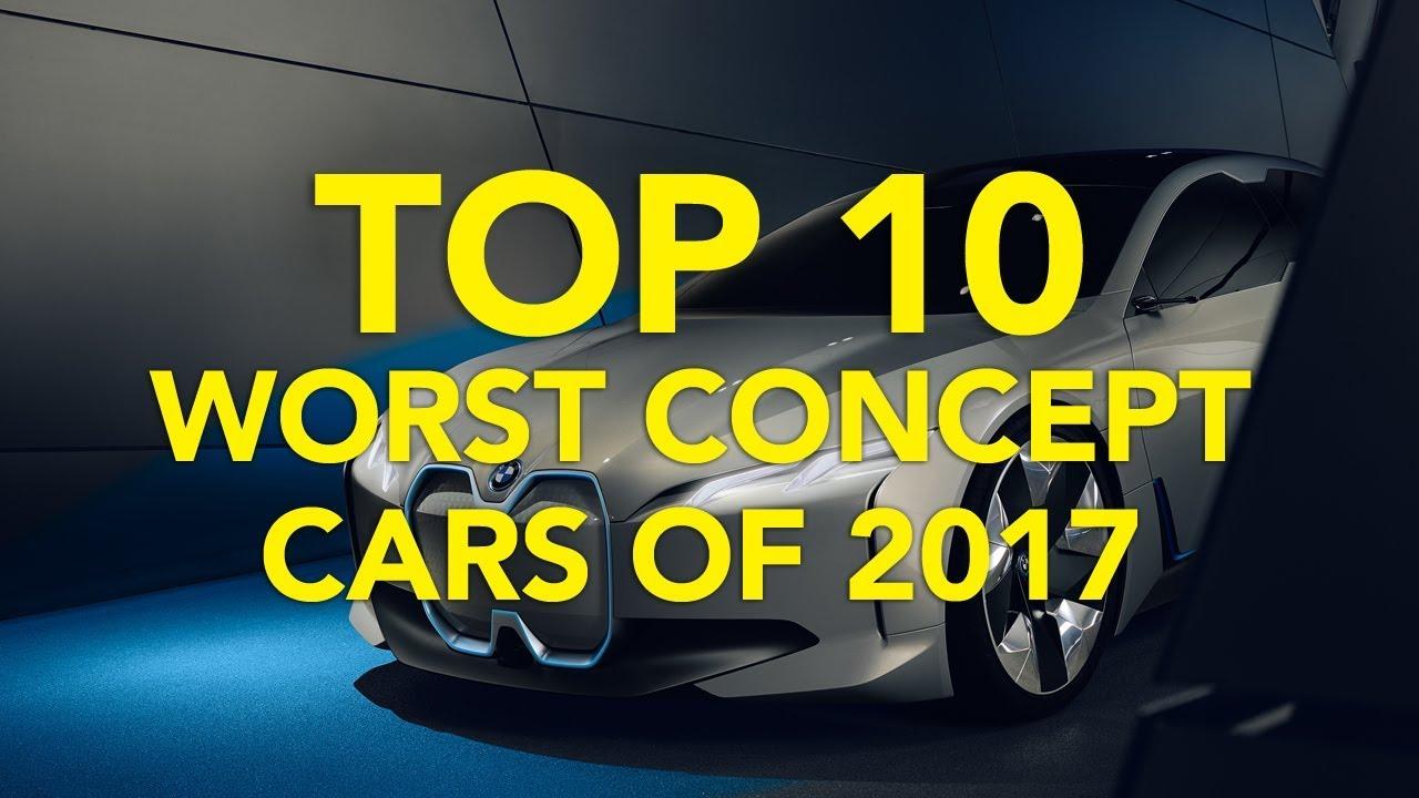 Top 10 Worst Concept Cars of 2017 - Dauer: 3 Minuten, 40 Sekunden