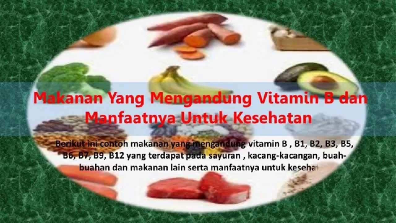 Vitamin B5 Makanan Apa Yang Terkandung Kesihatan