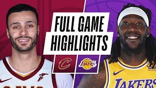 Game Recap: Lakers 100, Cavaliers 86