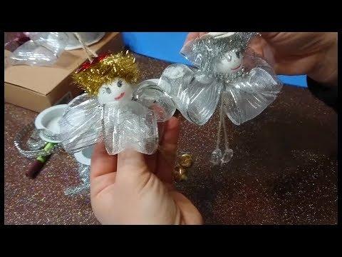 Foto Angioletti Di Natale.Tutorial Angeli Scicchettosi Per L Albero Di Natale Fai Da Te