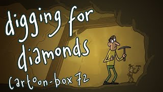 Digging For Diamonds | Cartoon-Box 72