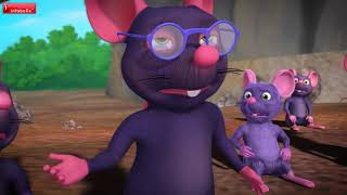 The Jackal and Wise Mouse - Kids Story   Bengali Stories for Children   Infobells