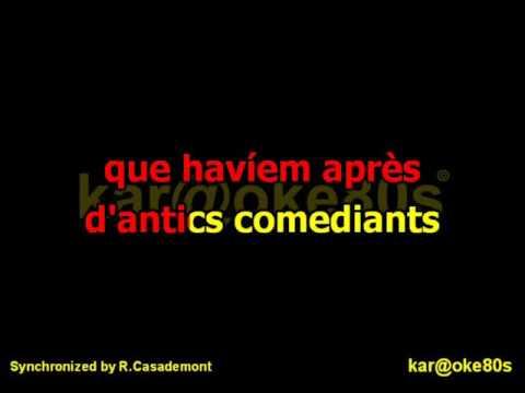 Paraules d 'Amor / karaoke