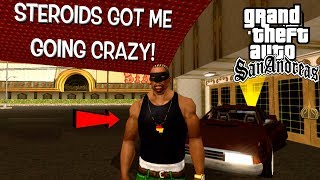 """MY MUSCLES GOT ME TRIPPING!! ( FUNNY """"GTA SAN ANDREAS"""" GAMEPLAY)"""
