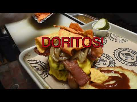 Doritos on a hamburger? Check out the 'Freedom Tower'