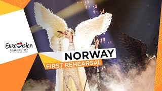 TIX - Fallen Angel - First Rehearsal - Norway 🇳🇴 - Eurovision 2021