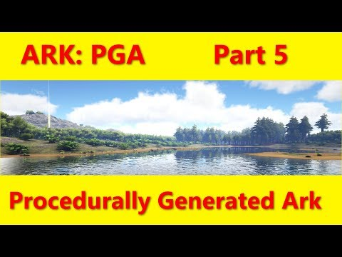 Let's Play ARK: Part 5, Procedurally Generated Ark (Map)