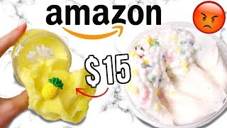$15 AMAZON SLIME REVIEW! Is It Worth It?!