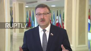 Russia  'Too early to start talking about successors' to Vitali Churkin   Kosachev