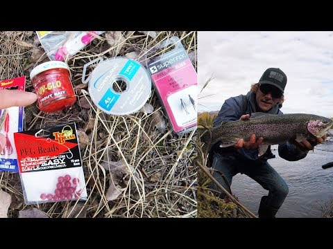How To Catch Trout, Rainbow Trout Fishing In Alaska!  (Kenai Peninsula)