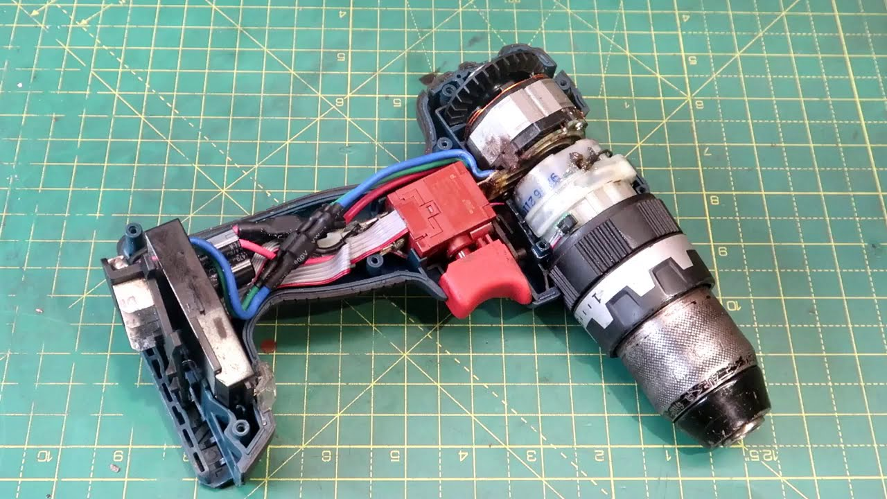 Bosch Cordless Brushless Drill Restoration/Gearbox Rebuild/GSB 18V-EC