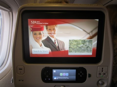ice - The Emirates Entertainment System - onboard of an B777-300ER