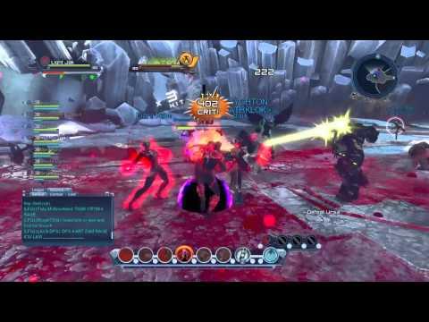 Dc Universe online Raid FOS 3 Gameplay