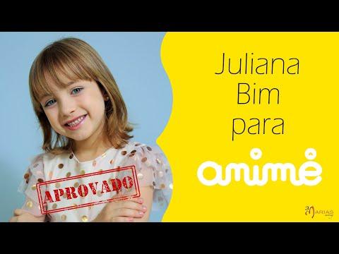 JOB: Juliana Bim para ANIMÊ