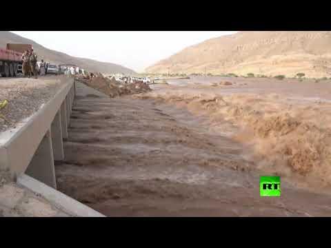فيضان سد مأرب اليمني للمرة الأولى منذ 34 عاما  - نشر قبل 2 ساعة