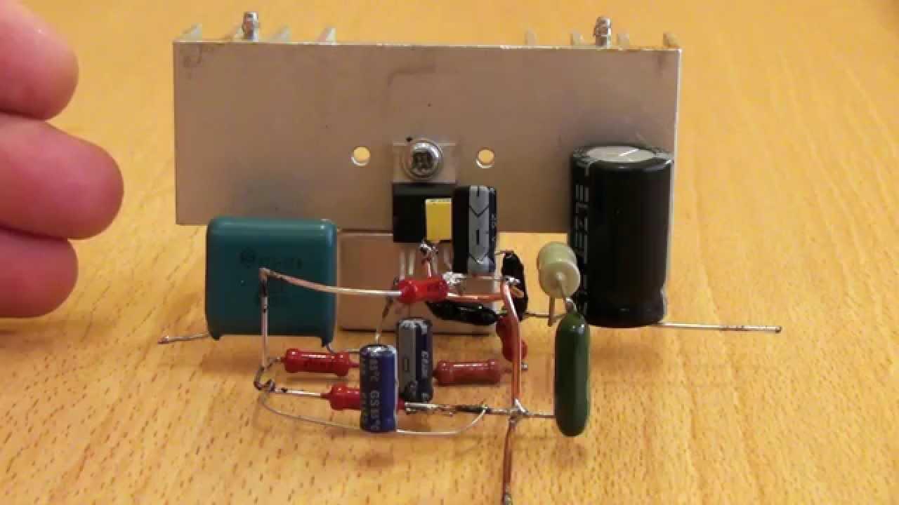 Усилитель звука на tda2030a схема