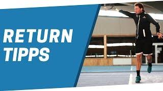 Tennis Return Tipps: Wie du deinen Return verbesserst