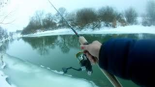 Рыбалка на крутых берегах