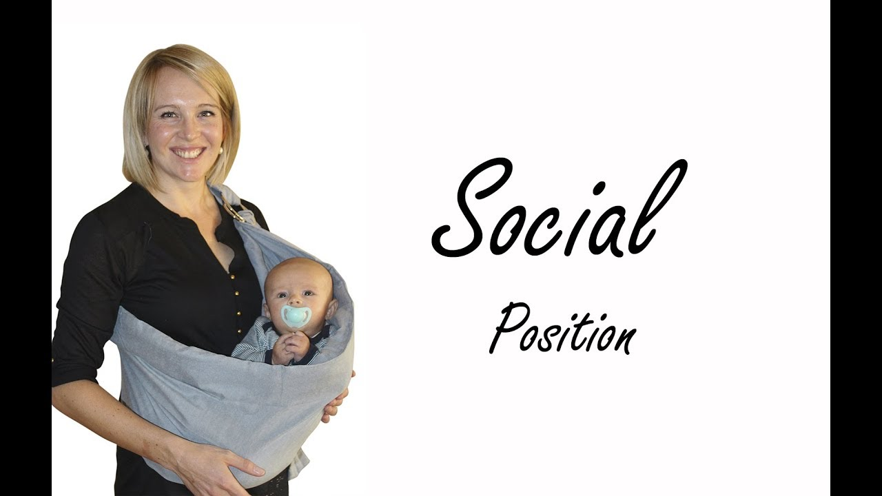 730fad9a069 BabyWombWorld Ring Sling - Social Position Tutorial - YouTube