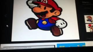 Drawing Challenge #1 Mario