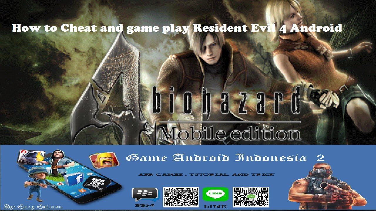 Totorial Cheat & Game PLay Resident Evil 4 Android