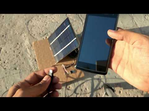 Free Energy - Solar Mobile Charger