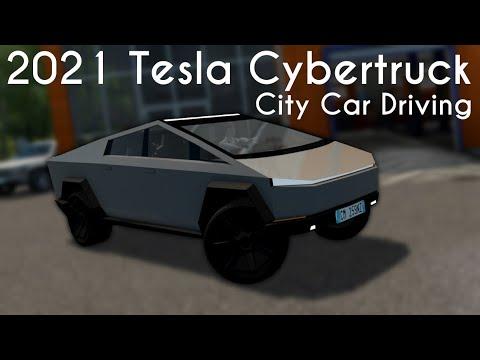 City Car Driving 1.5.9 - 2021 Tesla Cybertruck - Custom ...