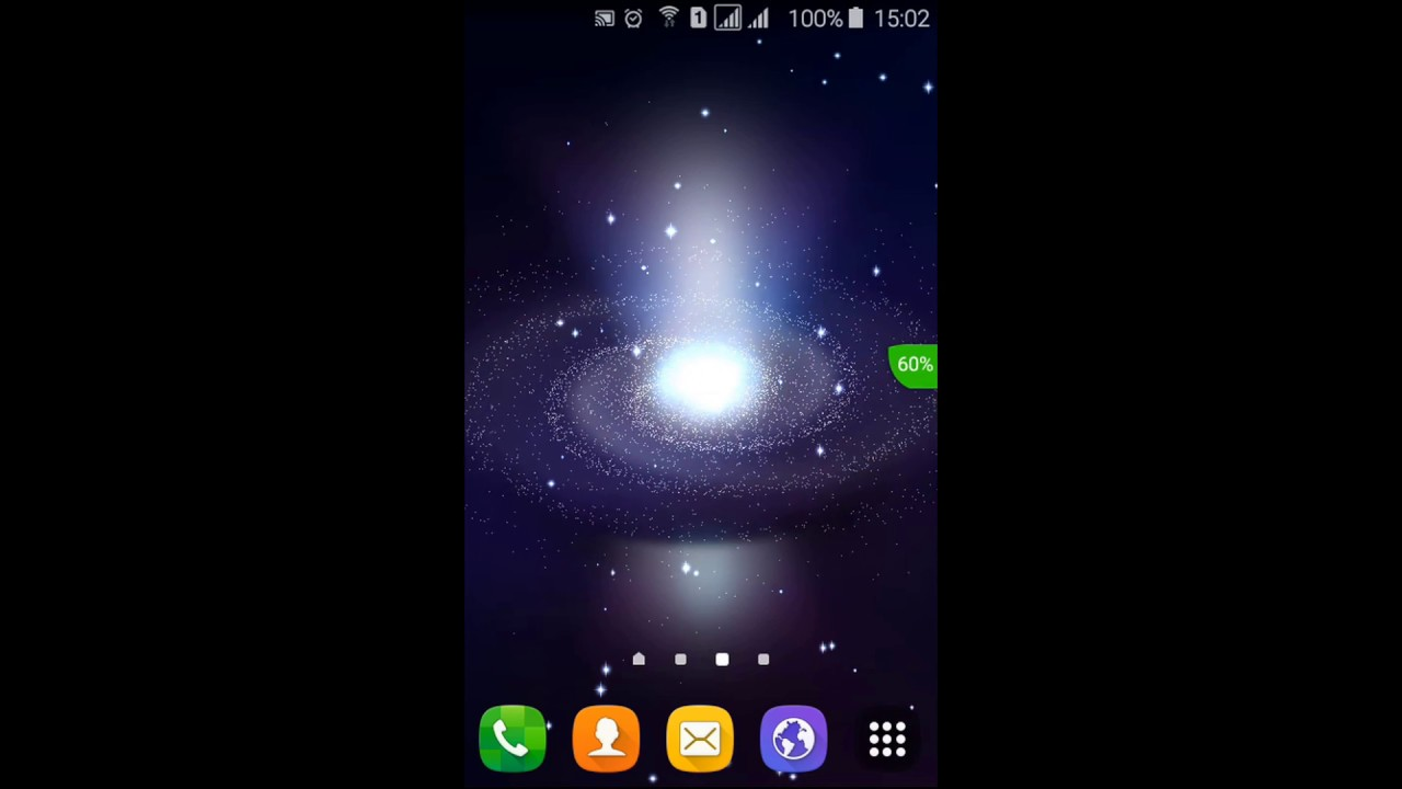 Black Hole Live Wallpaper - YouTube