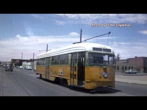 El Paso, TX Trolleys 1960ish