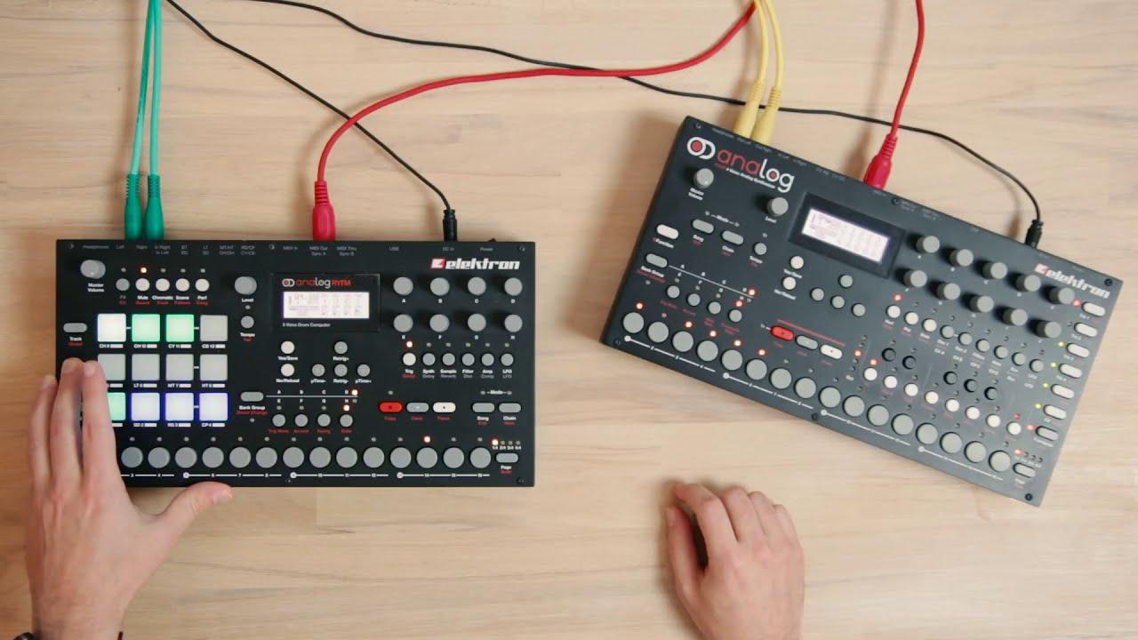 038 elektron analog rytm elektron analog four youtube. Black Bedroom Furniture Sets. Home Design Ideas