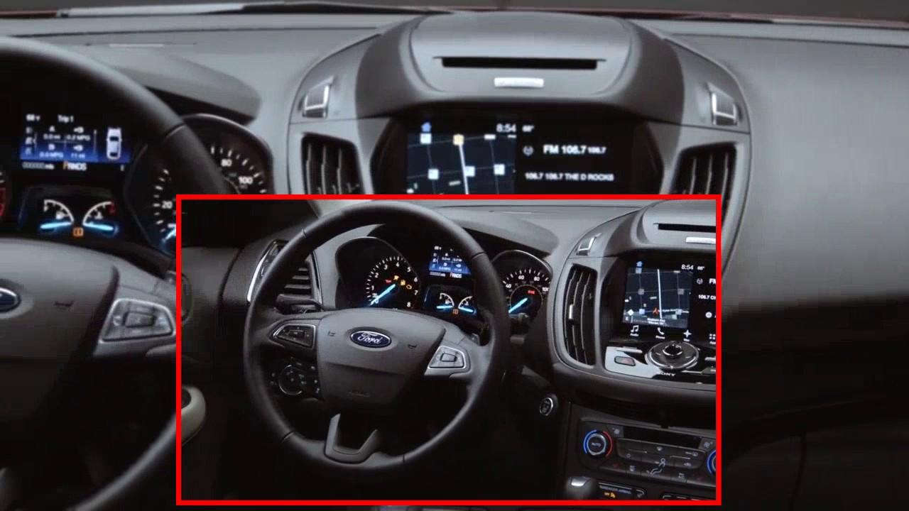 Ford Kuga Escape 2017 Intérieur (Officiel) - YouTube
